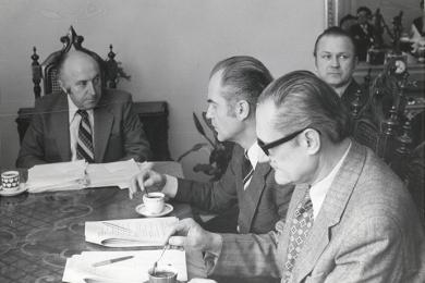Zasadnutie Muzeálnej rady Mestského múzea v Bratislave v roku 1979