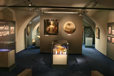 Múzeum dejín mesta v Starej radnici – pohľad do expozície