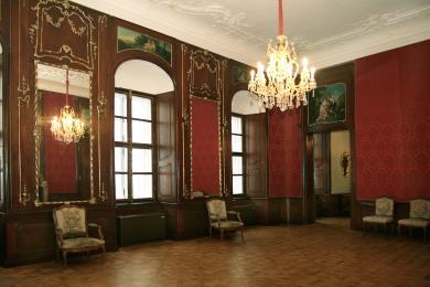 Múzeum historických interiérov, Apponyiho palác, Červený salón