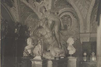 Sochárske diela vnajstaršej expozícii múzea vSúdnej sieni vStarej radnici