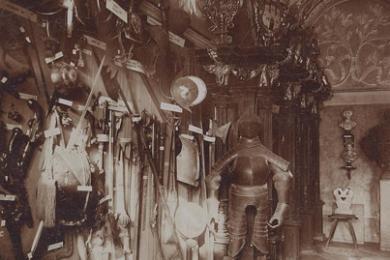 Inštalácia múzejných zbierok v Súdnej sieni v Starej radnici