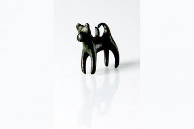 Plastika psíka z 1. storočia pred Kristom