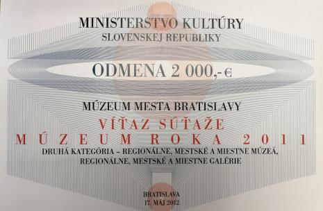 Múzeum roka 2011