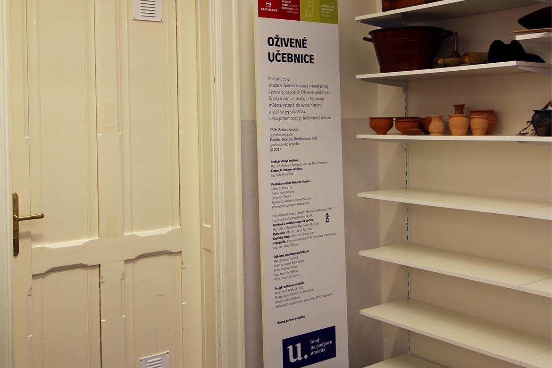 Ateliér Múzeum má budúcnosť, projekt Oživené učebnice
