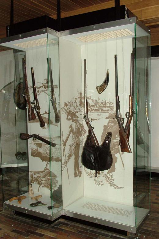 Expozícia Múzea zbraní