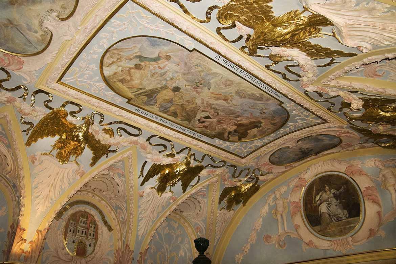 Fresková maľba v súdnej sieni