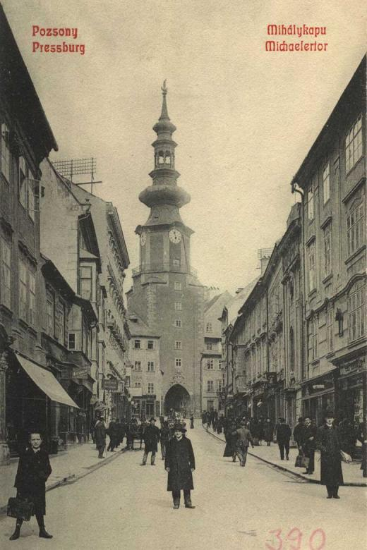 Michalská ulica 1900 - 1910