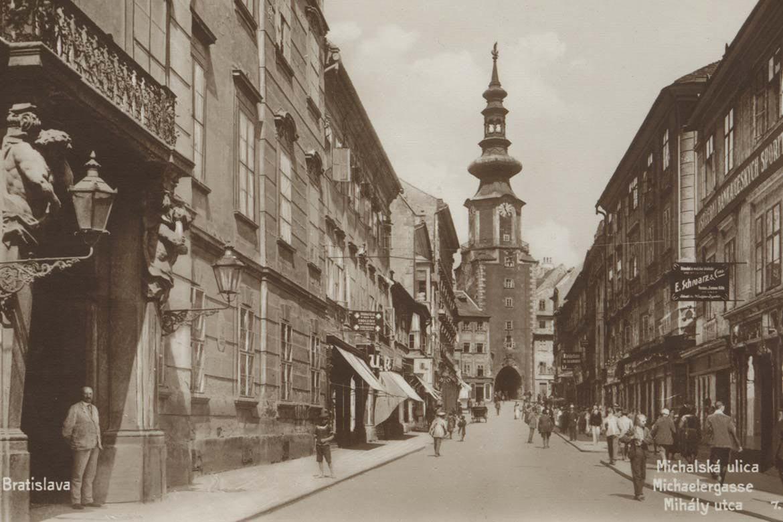 Michalská ulica 1920 - 1925
