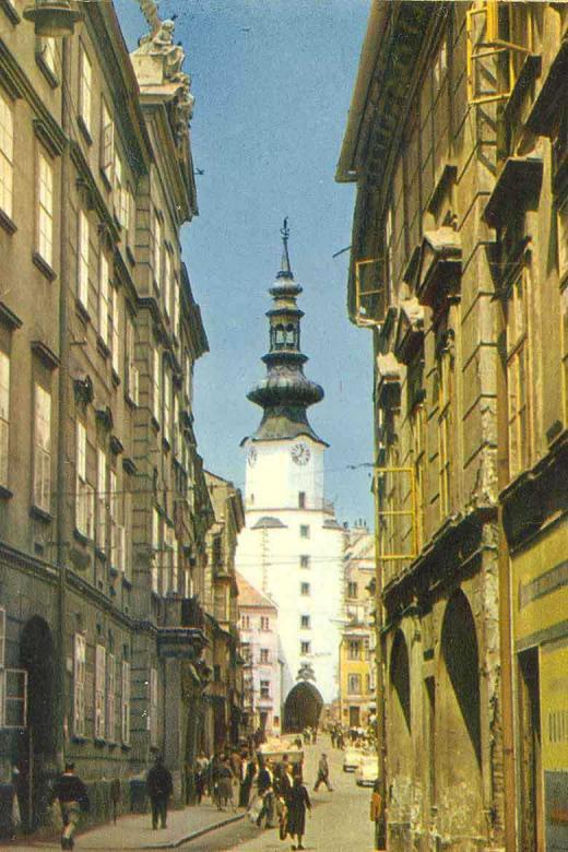 Michalská ulica roku 1965