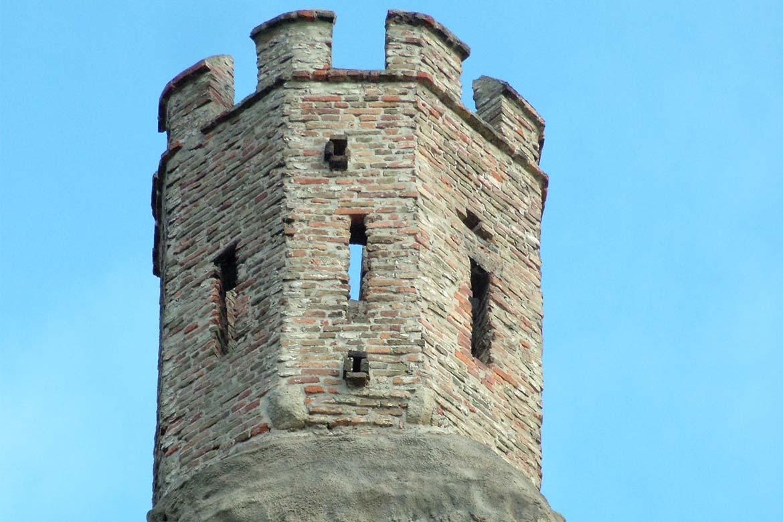 Panenská veža na hrade Devín