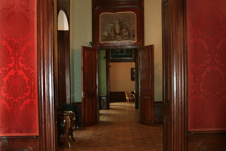 Pohľad do expozície Múzea historických interiérov, Apponyiho palác