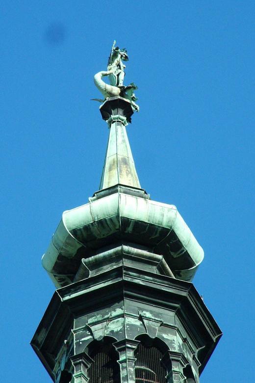 Socha archanjela Michala na Michalskej veži