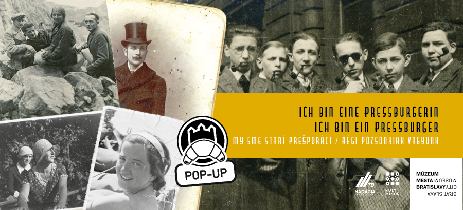 My sme starí Prešpuráci / Régi pozsonyiak vagyunk / Ich bin ein Pressburger