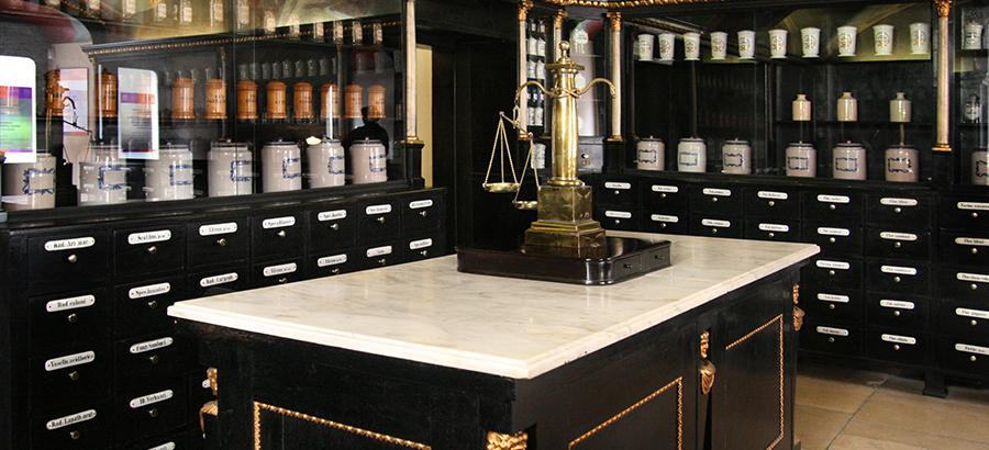 Expozícia Múzeum farmácie