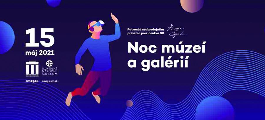 Noc múzeí a galérii 2021